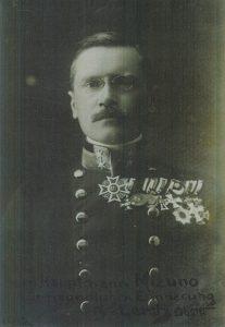 レルヒ少佐(1911年)写真提供:大房英一様(神奈川県藤沢市在住)
